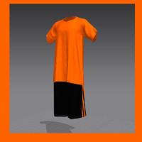 sportswear marvelous designer 3d obj