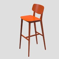 3d doll stool