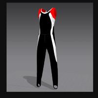 form gymnastics 3d model