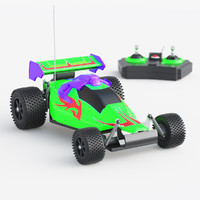 toy car racing 3d model
