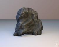 3d model ready modular rock