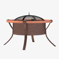 outdoor fire-pit door s