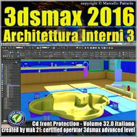 032 3ds max 2016 Architettura Interni vol 32 cd front