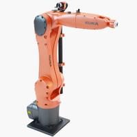 3d industrial robotic kuka kr