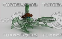 3dsmax scorpion