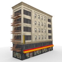 city house 3d 3ds
