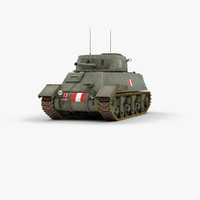 3d canadian ram 2 tank model