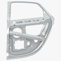 3ds max car door frame 2