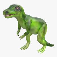 maya dinosaur toy tyrannosaurus