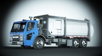 3d 2015 mack lr garbage truck model