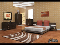 maya bedroom scene