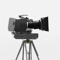 panavision camera 3d model