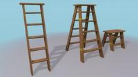 3d ladders model
