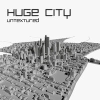 Huge City Untextured