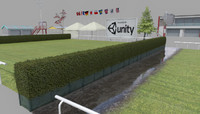 3d model racecourse construction kit: add-on