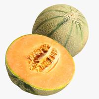 Cantaloupe + Half