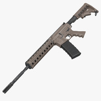 3d assault rifle ar15