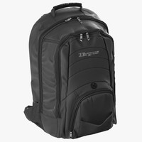 backpack modeled realistic 3d model