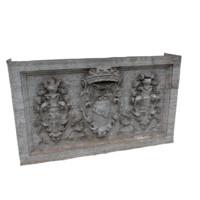 3d model monument block