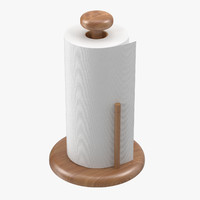 3dsmax paper towel roll holder