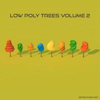 3d model 8 trees