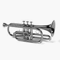 3d cornet model