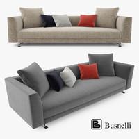x busnelli burton seater sofa