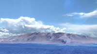 Cape Verde island coast landscape
