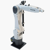 3ds max industrial robotic kuka kr