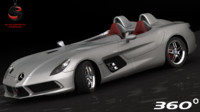 3d model mercedes-benz slr stirling moss