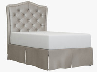 3ds tufted headboard