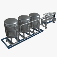 water filtration 3d max