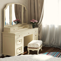 PbTeen Vanity Dressing Table