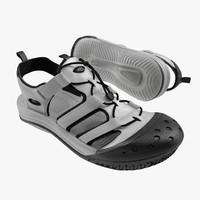 sneakers 7 white 3d model