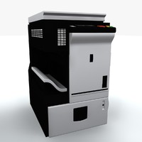 3d model photocopier machine iv