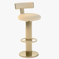 3d barstool design leisure