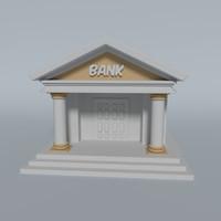 bank 3d fbx