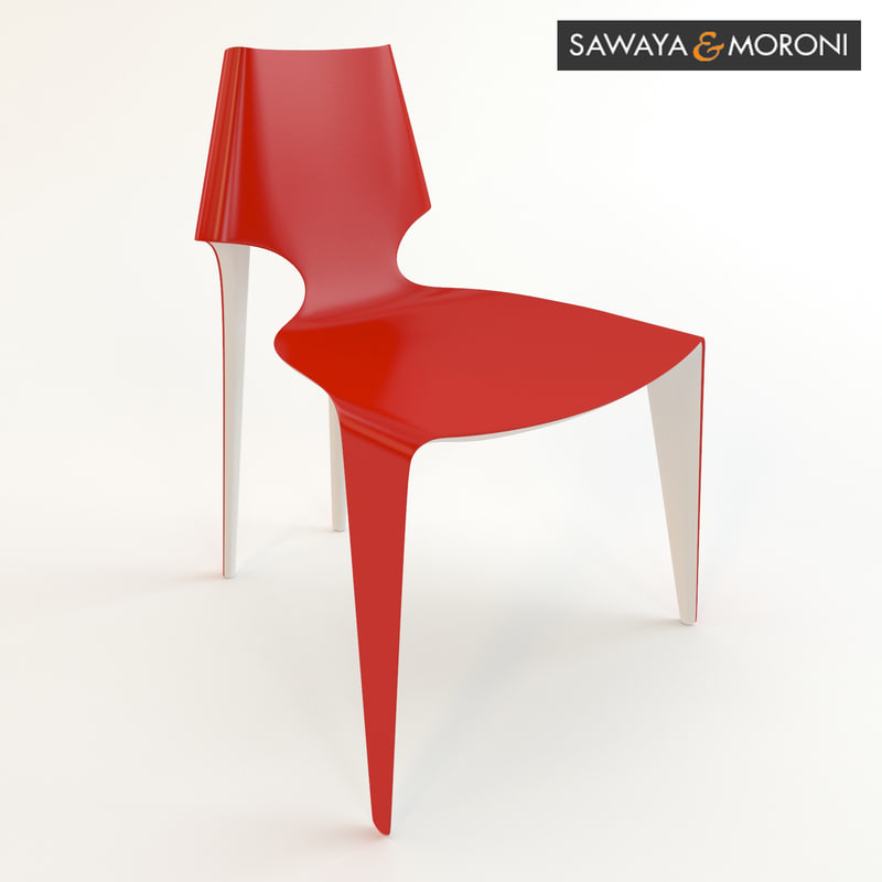 3d model fei chair sawaya moroni. Black Bedroom Furniture Sets. Home Design Ideas