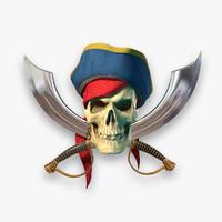 max pirate skull