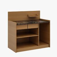 Cabinet Set 02 (Cafe)