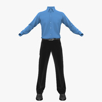 men clothing 3d 3ds