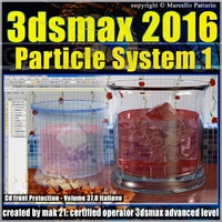 3ds max 2016 Particle System 1 volume 37 cd front