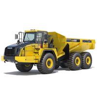 articulated dump truck komatsu x