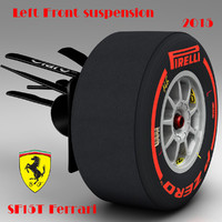 dae suspension ferrari sf15t