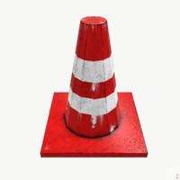 obj traffic cone
