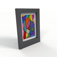 free photo frame 3d model