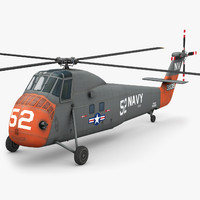 sikorsky h34 choctaw 3d model
