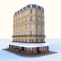 Vintage building - cafe