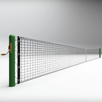tennis court net 3d max