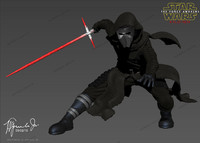 3d kylo ren star wars model